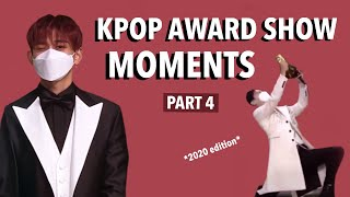 KPOP AWARD SHOW MOMENTS I THINK ABOUT ALOT PART 4 *2020 edition*