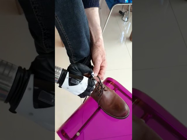 The Nexus Hand Demonstration - Tying Shoe Laces | COVVI
