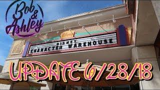 Disney Character Warehouse UPDATE 6/28/18