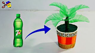 Video Nice Idea with Bottle   Best Out Of Waste   Coconut Tree From Plastic Bottle   DIY Craft Project download MP3, 3GP, MP4, WEBM, AVI, FLV Agustus 2018