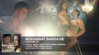 Gambar cover HIndi Songs 2014 Mohabbat Barsa De Song  Arjun  Arijit Singh