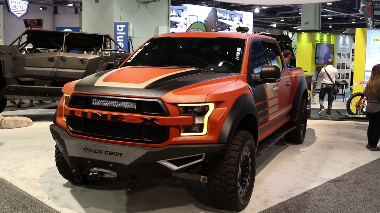 Sema 2017 Line X Is Not Just For Truck Beds Anymore