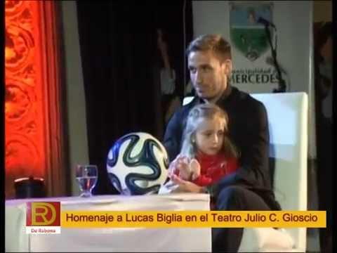DESPEDIDA A LUCAS BIGLIA AL MUNDIAL DE FÚTBOL 2014 BRASIL