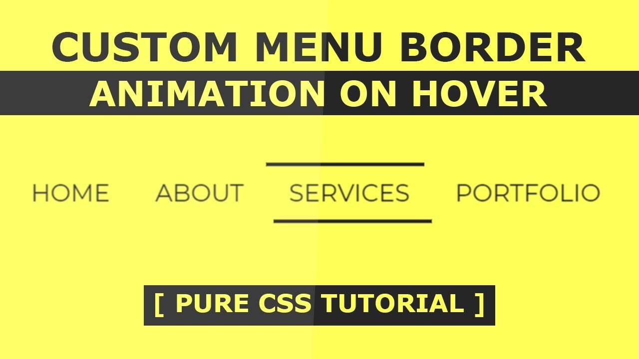 Thesis custom css menu