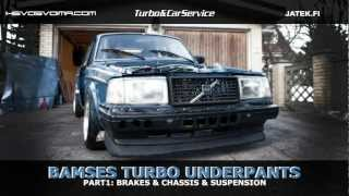 Bamse's Turbo Underpants - Part 1: Brakes, Chassis and Suspension