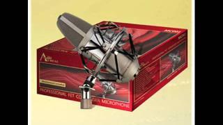 Aureal MC001 test micrófono condensador - voz