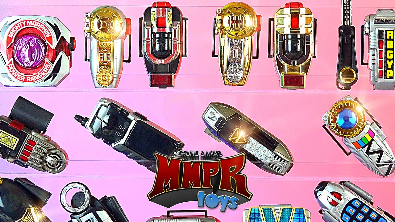Display Your Power Rangers Morphers Youtube