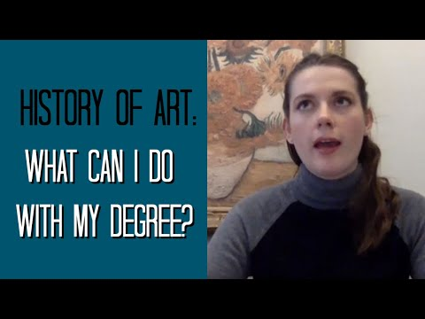 What can I do with a History of Art degree?