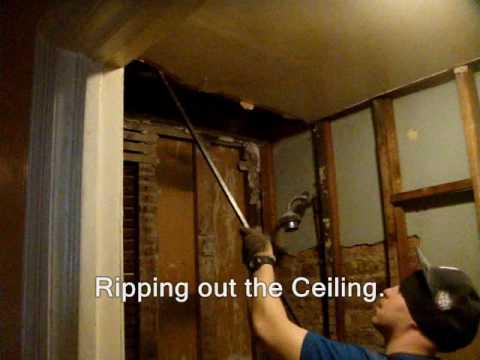Nyc Kitchen Bathroom Gutout Ripout Apartment Interior Demolition