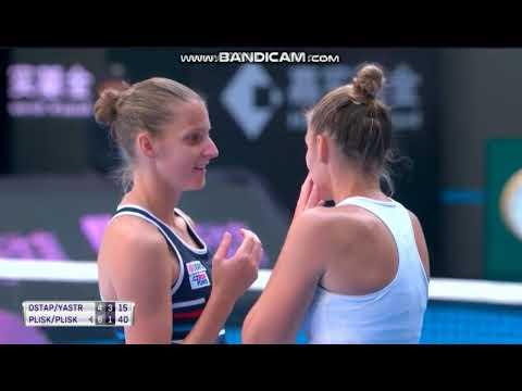 Beijing SF: Pliskova/Pliskova vs Ostapenko/Yastremska