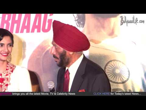 First Look And Music Launch Of Film Bhag Milkha Bhag