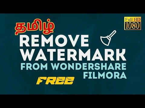 How To Remove Watermark From Wondershare Filmora For Free And Easy(work 100%)