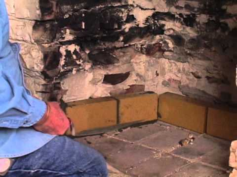 Brick Fire Box Repair - YouTube