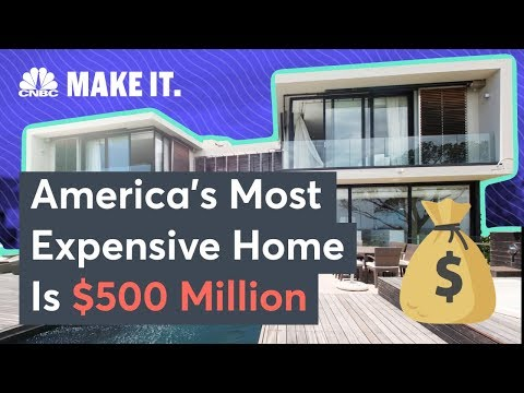 America's Most Expensive Home Is A Mind-Blowing $500 Million Bel-Air Mansion | CNBC Make It.