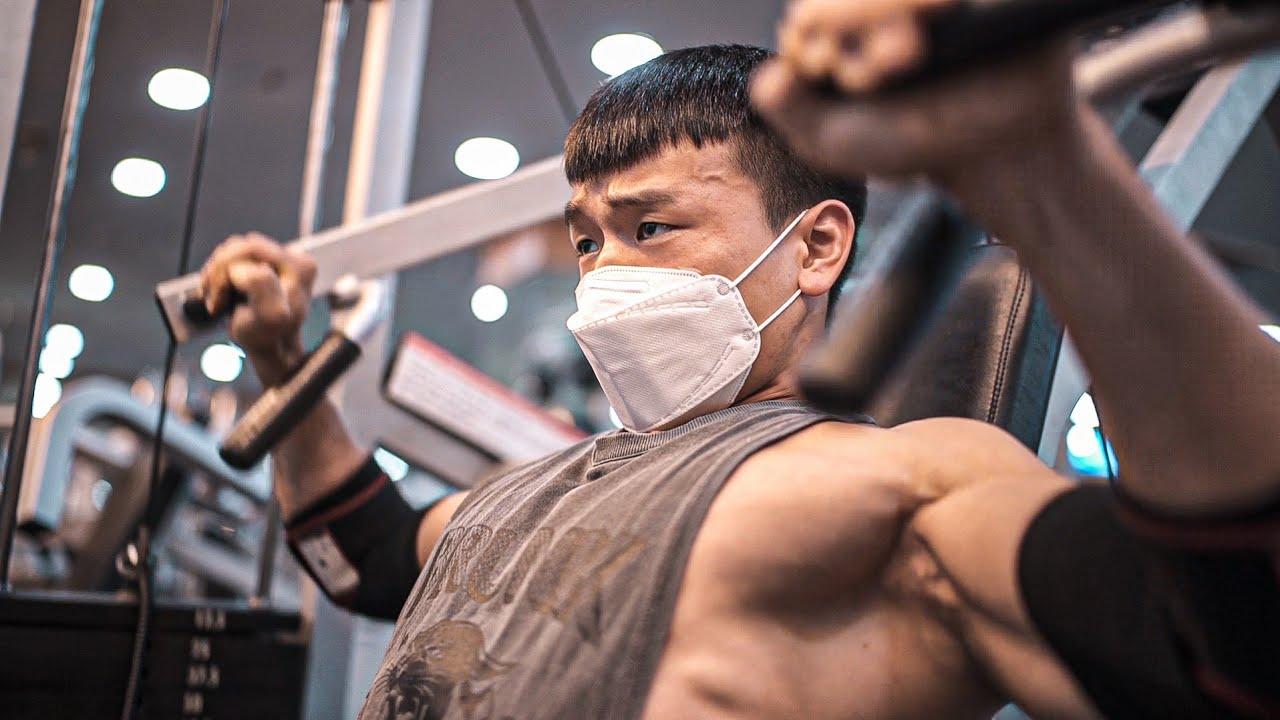 대회가 일주일 남았을때 나의 운동루틴과 운동강도 (feat. 하체운동)