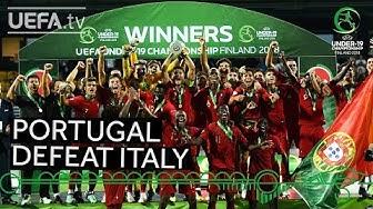 #U19 EURO highlights: Portugal win epic final