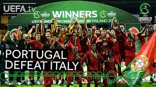 #U19 EURO highlights: Portugal win epic final