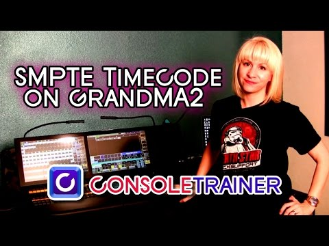 How to Set Up SMPTE Timecode on GrandMA2