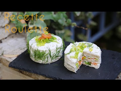 Sandwich cake au saumon !