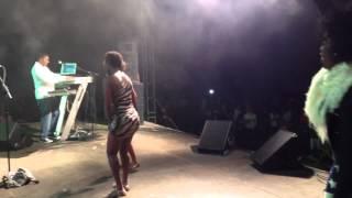 Kaysha x On dit quoi - Live @ Assomada, Cabo Verde. Nov. 2013
