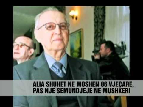 Ndërron jete ish-presidenti Ramiz Alia - Vizion Plus - News - Lajme