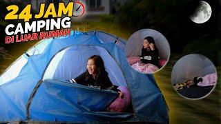 24 Jam Camping di TENGAH JALAN 🏕 ☠️😵 Tiba-tiba Ada..