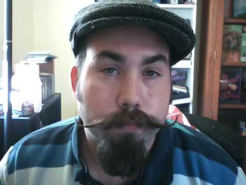 how to grow a handlebar mustache and goatee