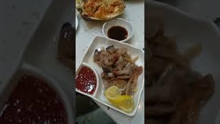 КНР, Хуньчунь. Ресторан морепродуктов. Смотрите.