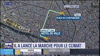 """Qui est Maxime Lelong, qui a lancé la """"Marche pour le climat""""?"""