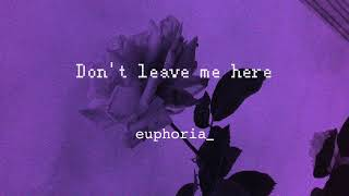 Coldsteeze-Don't leave me here🥀 (slow remix)