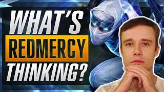 WHAT'S REDMERCY THINKING? - Zed EXTREME Depth Gameplay - League of Legends