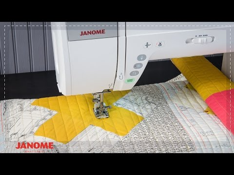 Janome Horizon Memory Craft 9400QCP Feature Video