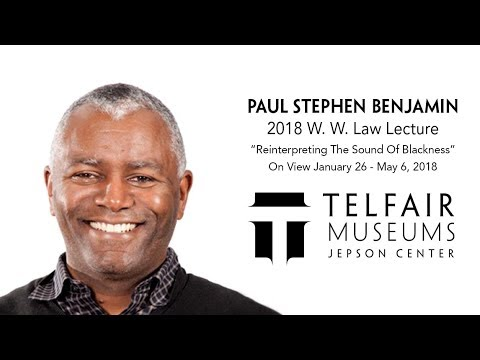 2018 W. W. Law Lecture with Paul Stephen Benjamin