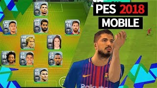 PES 2018 Mobile Gameplay [ Android / iOS ] - Better than FIFA 18 Mobile ??