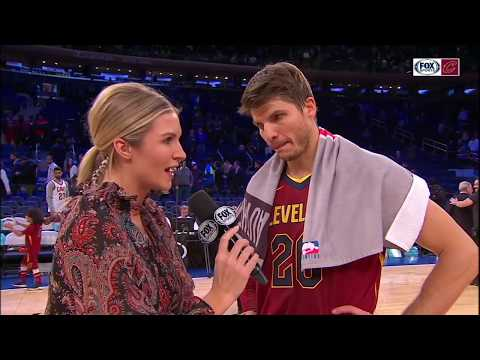 Kyle Korver postgame after Cavs