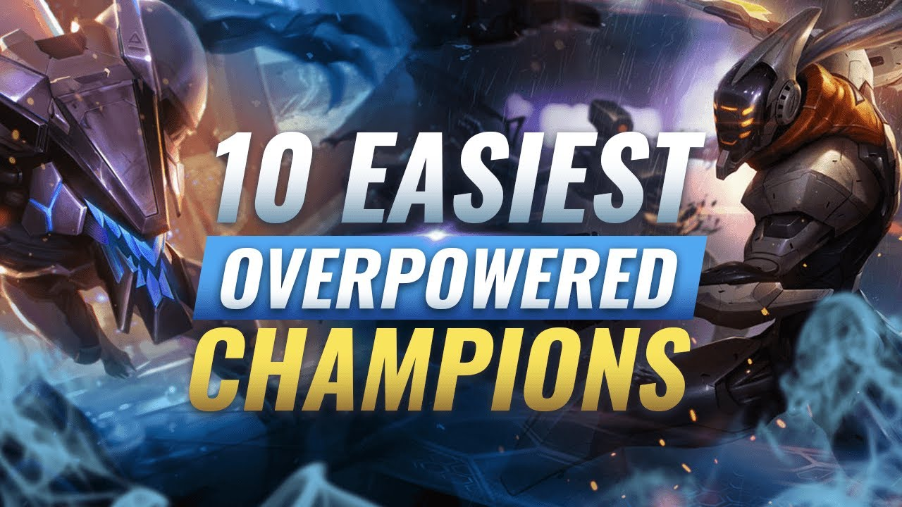 10 Fastest Easiest Champs For Climbing Ranked League Of Legends Youtube