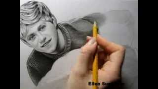 One Direction Drawing by Ellen Sunbeam