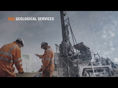 SGS Geological Services for the Minerals and Mining Industry