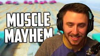 MUSCLE MAYHEM (GTA 5 Funny Moments)
