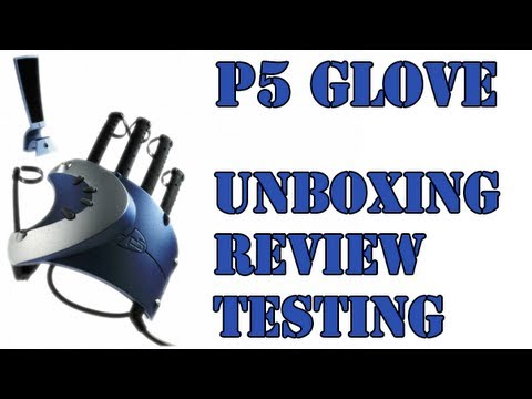 P5 Virtual Reality Data Glove Unboxing, Review & Testing