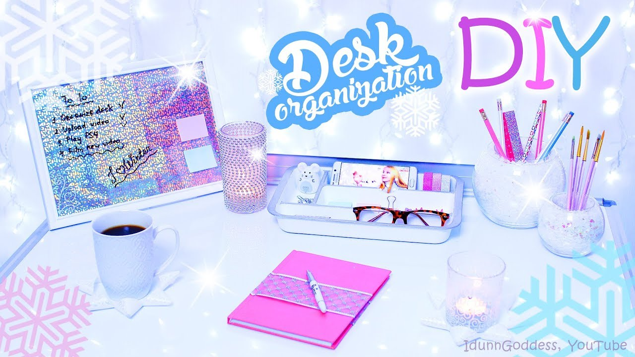 6 diy desk organization and decor ideas for winter winter style