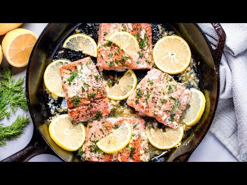 How To Make Healthy Lemon Garlic Salmon