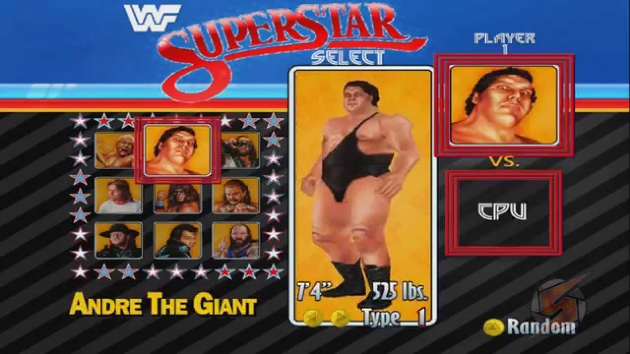WWF Legends (WWF No Mercy Mod) Exhibition Match