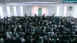 khutba juma - 28-oct-2011- jmaat ahmadiyya khalifa tul masih khamis  atba - 10