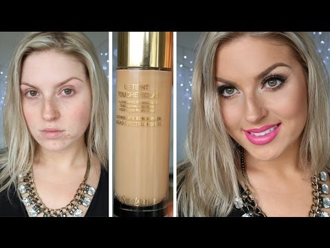 2ac0e0441b First Impression Review ♡ YSL Touche Eclat Foundation - YouTube
