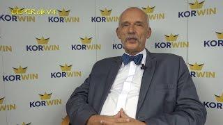 Janusz Korwin-Mikke odpowiada Mariuszowi Max Kolonko w sprawie Miriam Shaded 24.09.2015