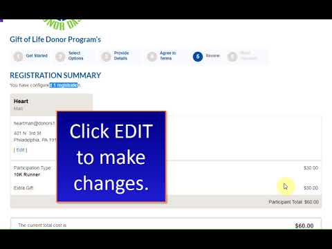 How To Register For Donor Dash: Team Registration