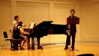 Weber Clarinet Concerto Played on BASS CLARINET
