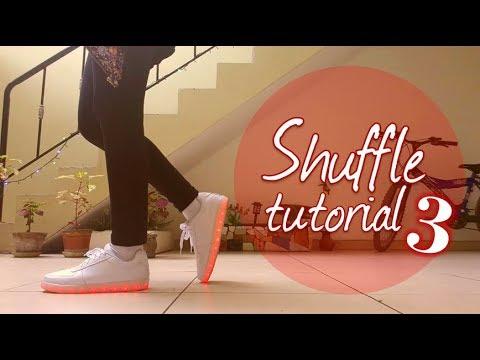 Cómo bailar shuffle 3  Cutting shapes  Saori Chan❤