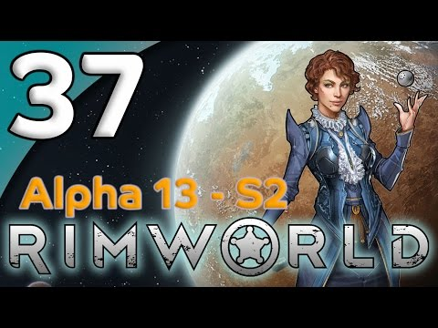 Rimworld Alpha 13 - 37. Geothermal Generation - Let's Play Rimworld Gameplay